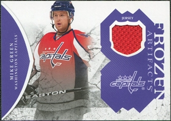 2011/12 Upper Deck Artifacts Frozen Artifacts Jerseys Purple #FAMG Mike Green