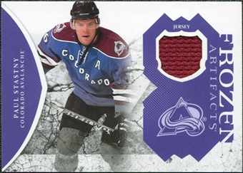 2011/12 Upper Deck Artifacts Frozen Artifacts Jerseys Purple #FAPS Paul Stastny