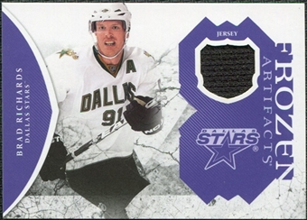 2011/12 Upper Deck Artifacts Frozen Artifacts Jerseys Purple #FARI Brad Richards