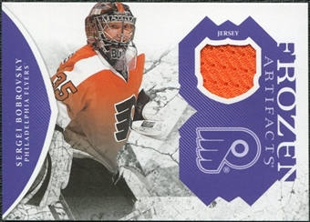 2011/12 Upper Deck Artifacts Frozen Artifacts Jerseys Purple #FASB Sergei Bobrovsky