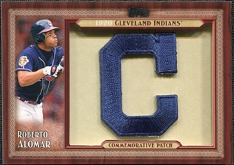 2011 Topps Commemorative Patch #RAL Roberto Alomar