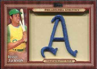 2011 Topps Commemorative Patch #RJ Reggie Jackson