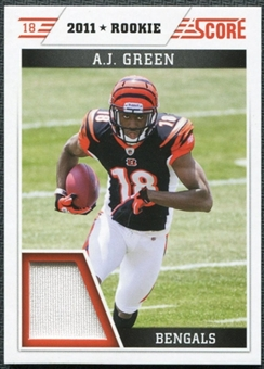 2011 Panini Score Retail Factory Set Rookie Jerseys #AG A.J. Green
