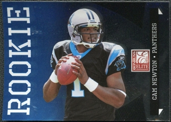 2011 Panini Donruss Elite #115B Cam Newton BF UER inserted in Black Friday packs /999