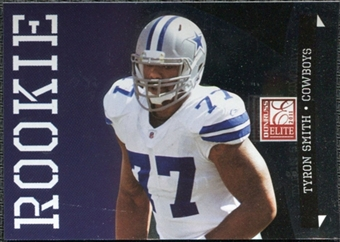 2011 Panini Donruss Elite #123B Tyron Smith BF/(inserted in Black Friday packs) /999