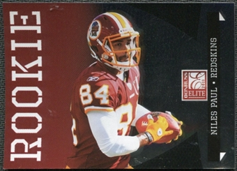 2011 Panini Donruss Elite #170B Niles Paul BF/(inserted in Black Friday packs) /999