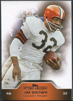 2011 Topps Precision #6 Jim Brown