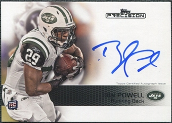 2011 Topps Precision #126 Bilal Powell RC Autograph