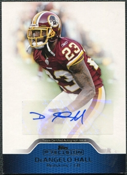 2011 Topps Precision Autographs #PCVADH DeAngelo Hall Autograph