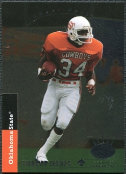 2012 Upper Deck 1993 SP Inserts #93SP66 Thurman Thomas RC