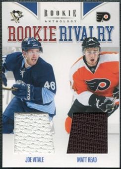2011/12 Rookie Anthology Rookie Rivalry Dual Jerseys #43 Joe Vitale Matt Read