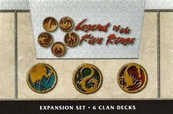 AEG Legend of the Five Rings Honor's Veil Starter Box