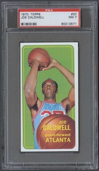 1970/71 Topps Basketball #37 Joe Caldwell PSA 7 (NM) *3571