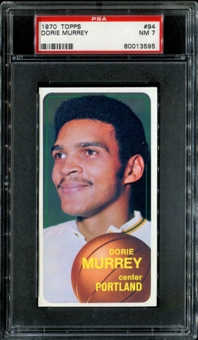 1970/71 Topps Basketball #94 Dorie Murrey PSA 7 (NM) *3595