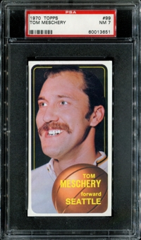 1970/71 Topps Basketball #99 Tom Meschery PSA 7 (NM) *3651
