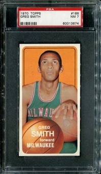 1970/71 Topps Basketball #166 Greg Smith PSA 7 (NM) *3674