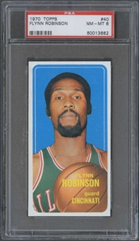 1970/71 Topps Basketball #40 Flynn Robinson PSA 8 (NM-MT) *3682