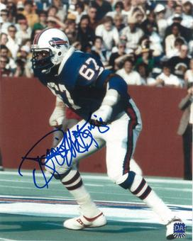 Reggie McKenzie Autographed Buffalo Bills 8x10 Photo