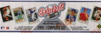 1991 Upper Deck Baseball Factory Set