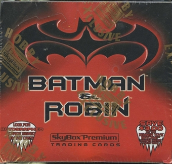 Batman and Robin Hobby Box (1997 Skybox Premium)