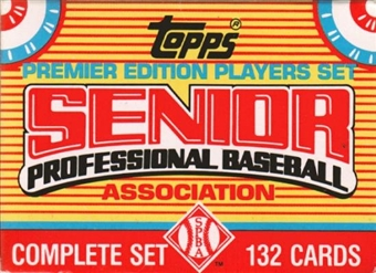 1989 Topps Senior League Baseball Factory Set
