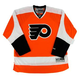 Philadelphia Flyers Reebok Orange Premier Jersey (Adult XL)