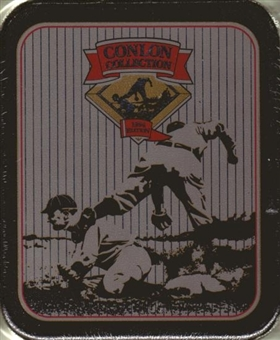 1994 Conlon Collection Baseball Tin Set