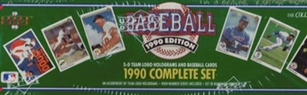 1990 Upper Deck Baseball Factory Set