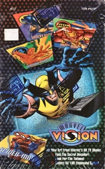 Marvel Vision Box (1996 Fleer Skybox)