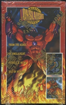 Marvel Onslaught Hobby Box (1996 Fleer Ultra)