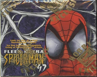 Spiderman Hobby Box (1997 Fleer Ultra)
