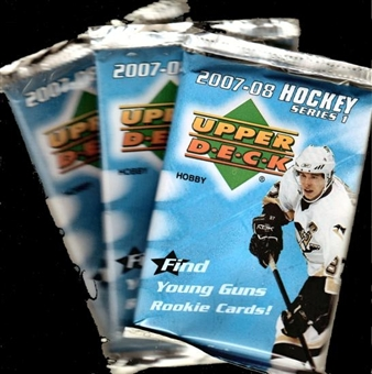 2007/08 Upper Deck Series 1 Hockey Hobby Pack