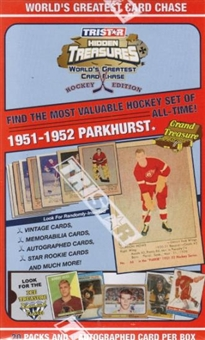 2005/06 TriStar Worlds Greatest Card Chase Hockey 20-Pack Box