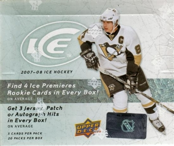 2007/08 Upper Deck Ice Hockey Hobby Box