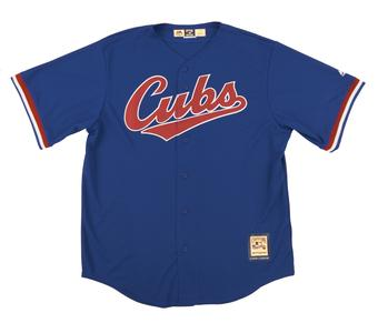 Chicago Cubs Majestic Royal Cooperstown Collection Cool Base Jersey