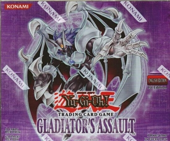 Upper Deck Yu-Gi-Oh Gladiator's Assault Booster Box