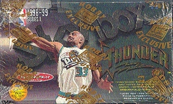 1998/99 Skybox Thunder Basketball Hobby Box