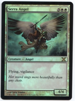 Magic the Gathering 10th Edition Single Serra Angel Foil