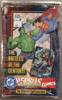 DC Versus Marvel Comics Hobby Box (1995 Fleer Skybox)