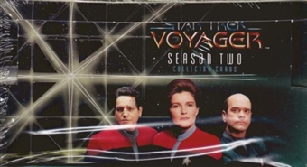 Star Trek: Voyager Season Two Hobby Box (1996 Skybox)