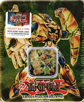 Upper Deck Yu-Gi-Oh 2007 Holiday Elemental Hero Plasma Vice Tin