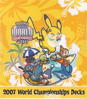 Pokemon 2007 World Championship Deck Box