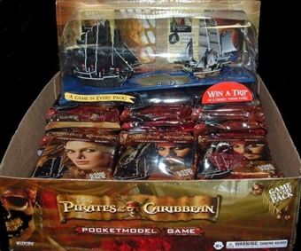 WizKids Pirates of the Caribbean Pocketmodel Game 36-Pack Booster Box