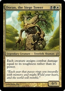 Magic the Gathering Lorwyn Single Doran, the Siege Tower - SLIGHT PLAY (SP)