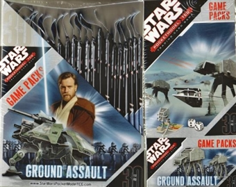 WizKids Star Wars Pocketmodel Ground Assault Booster Box