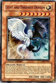 Yu-Gi-Oh Promo Single Light and Darkness Dragon Ultra Rare (LDPP-EN001)