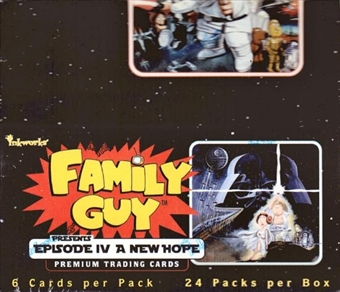Family Guy Episode IV A New Hope Trading Cards Box (Inkworks 2008)