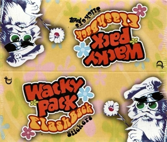 Wacky Packages Flashback Hobby Box (2008 Topps)