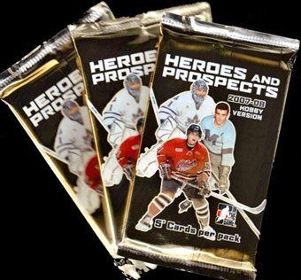 2007/08 In The Game Heroes & Prospects Hockey Hobby Pack