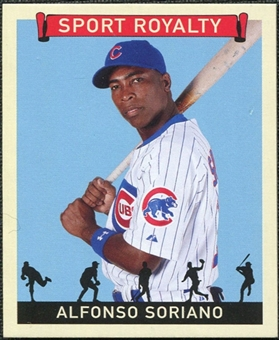 2007 Upper Deck Goudey Sport Royalty #AS Alfonso Soriano